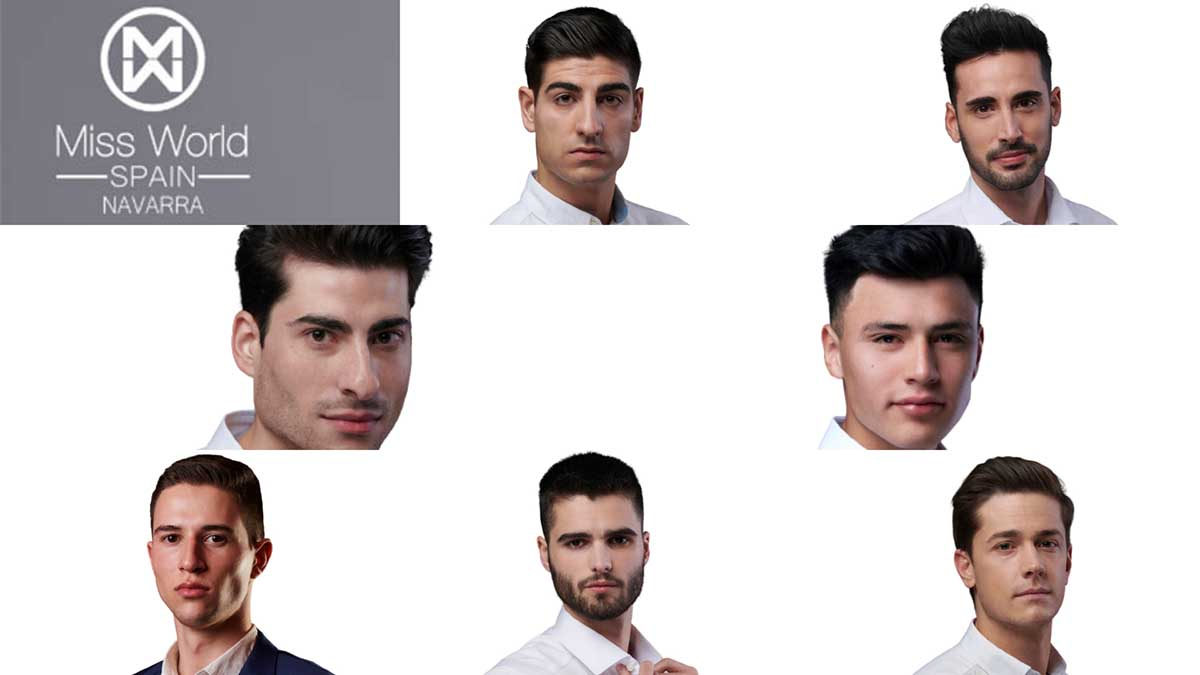 Candidatos a Mr Navarra.